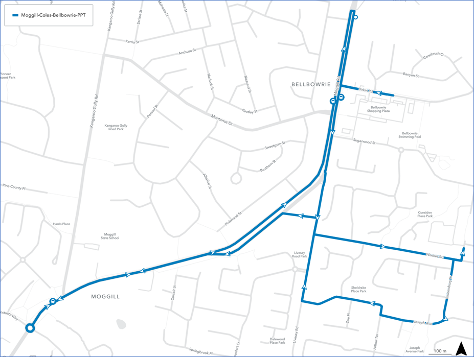 new route map